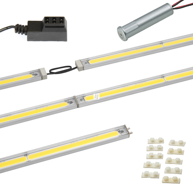 "LED Linear Lighting Kit for 18"" Cabinet - SimpLED 2.0,  7W, Cool Light, 5000K :: Image 10"