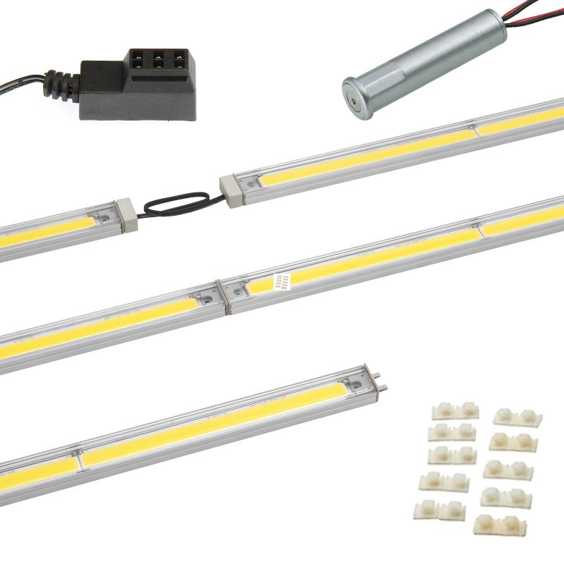 "LED Linear Lighting Kit for 48"" Cabinet - SimpLED 2.0,  19W, Warm Light, 3000K :: Image 10"