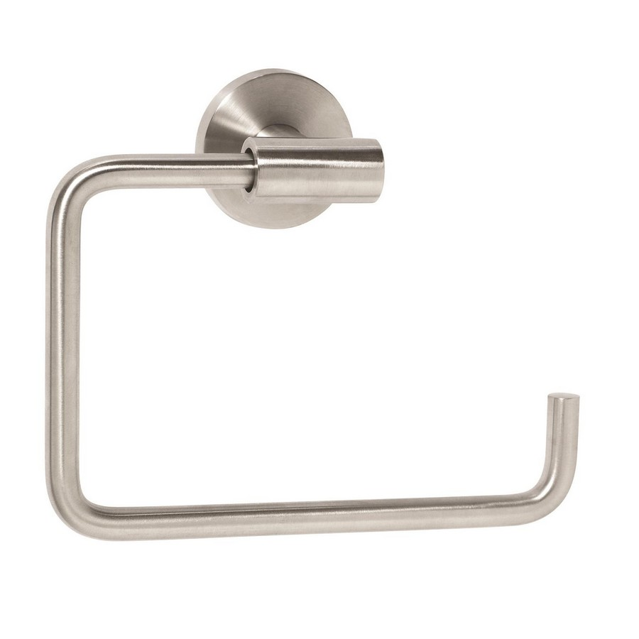 "Arrondi Towel Ring 6-7/16"" Long Stainless Steel Amerock BH26541SS"