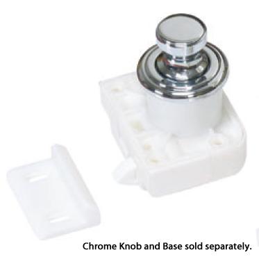 Sugatsune TLP-BB/CR Push Button & Base, Chrome, for Push Knob Latch (Latch Body Sold Separately) :: Image 20