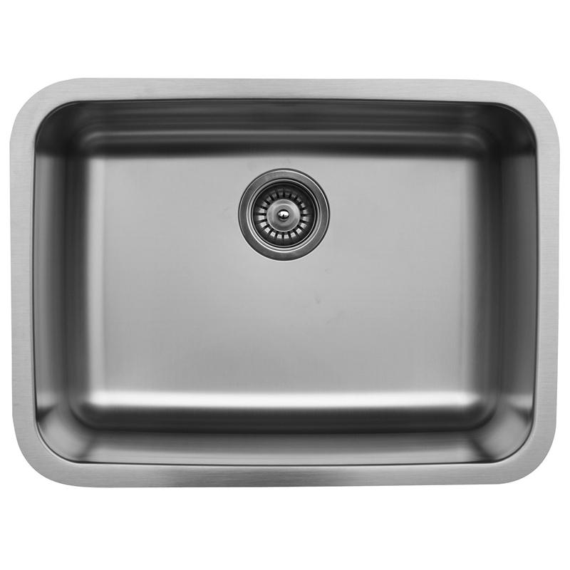 "Karran U2418, 24-1/8"" x 18-1/8"" Undermount Bar/ Prep Sink, Single Bowl, Stainless Steel :: Image 10"