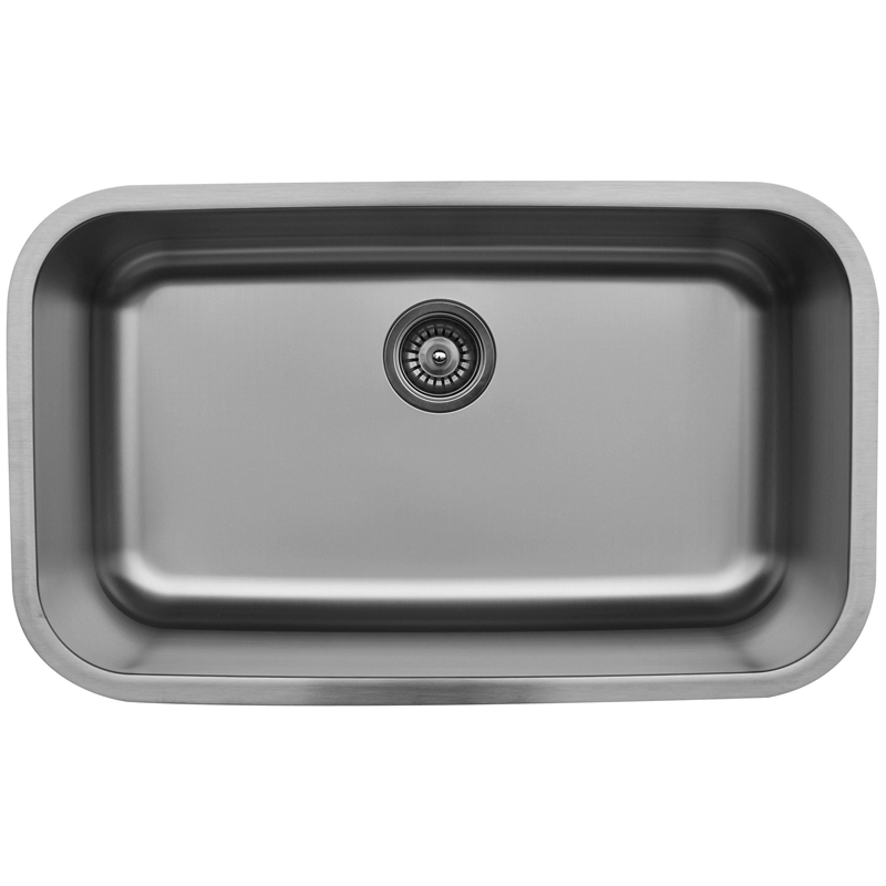 "Karran U3018, 30-1/2"" x 18-3/8"" Undermount Bar/ Prep Sink, Single Bowl, Stainless Steel :: Image 10"