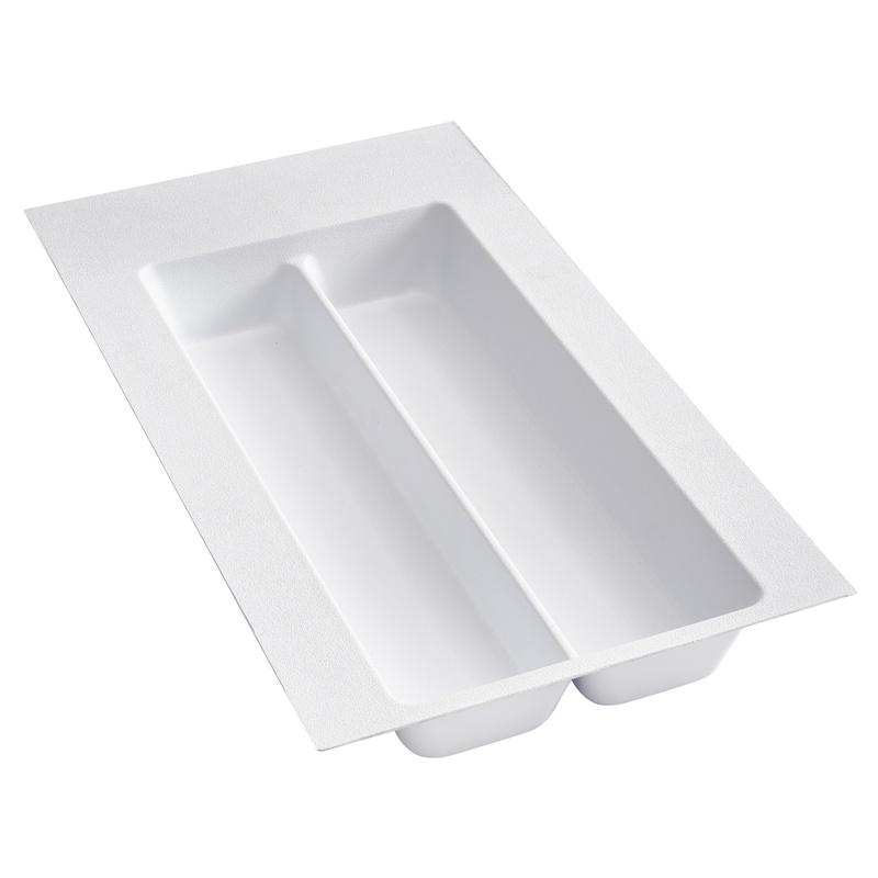 """11-1/2"""" Utensil Drawer Insert, Plastic, White, Rev-a-shelf  UT-10W-52 :: Image 10"""