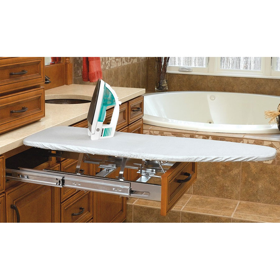 Rev-A-Shelf VIB-20CR, Fold-Out Ironing Board Pull-Out, Vanity Model :: Image 30