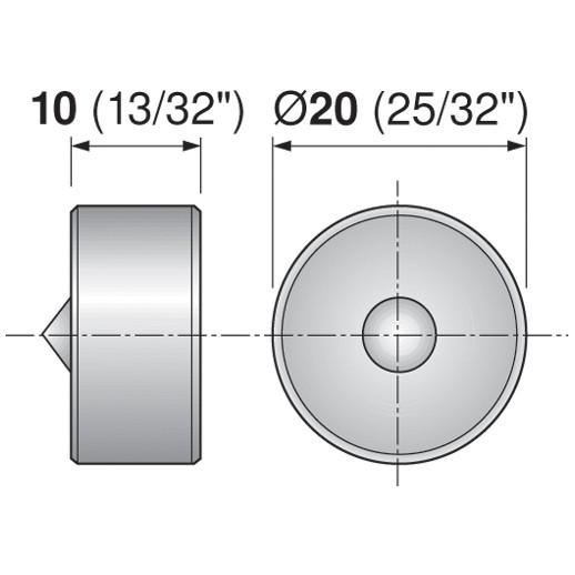 Blum 65.2950.10 Drawer Front Adjuster Marker-Gauge :: Image 70