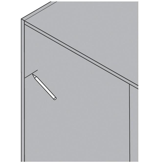 Blum 65105102 Universal Individual Boring Template for AVENTOS :: Image 20