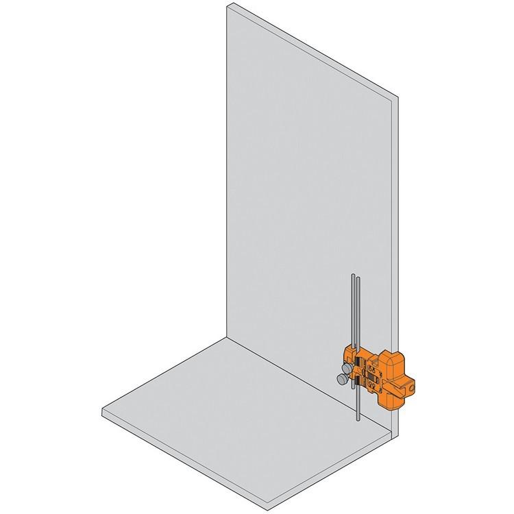 Blum 65.5000 BLUMOTION for Doors Boring Template :: Image 10