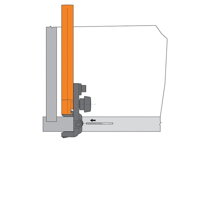 Blum 65.5030.01 Platemate Boring Template :: Image 60
