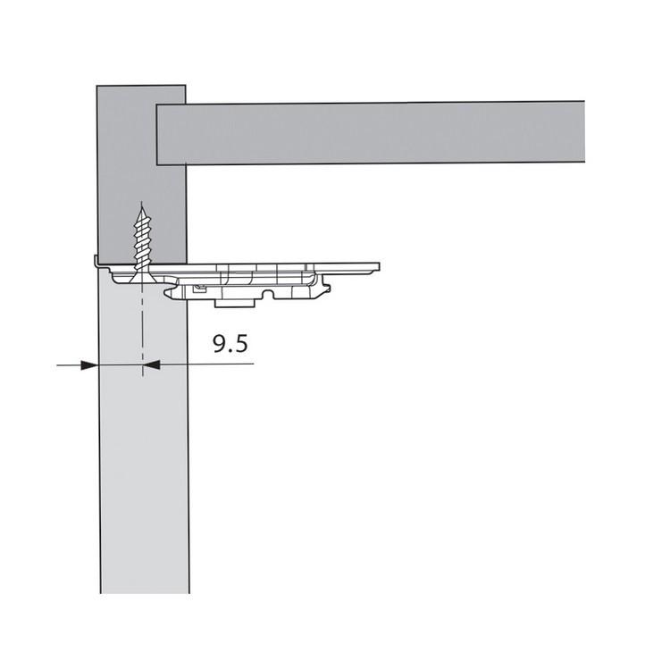 Blum 65.5030.01 Platemate Boring Template :: Image 30