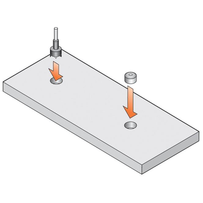 Blum 295.1000.21 Drawer Front Adjuster, 1000 pack :: Image 80