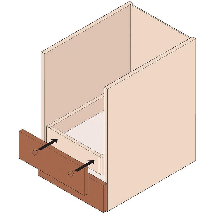 Blum 295.1000.21 Drawer Front Adjuster, 1000 pack :: Image 100