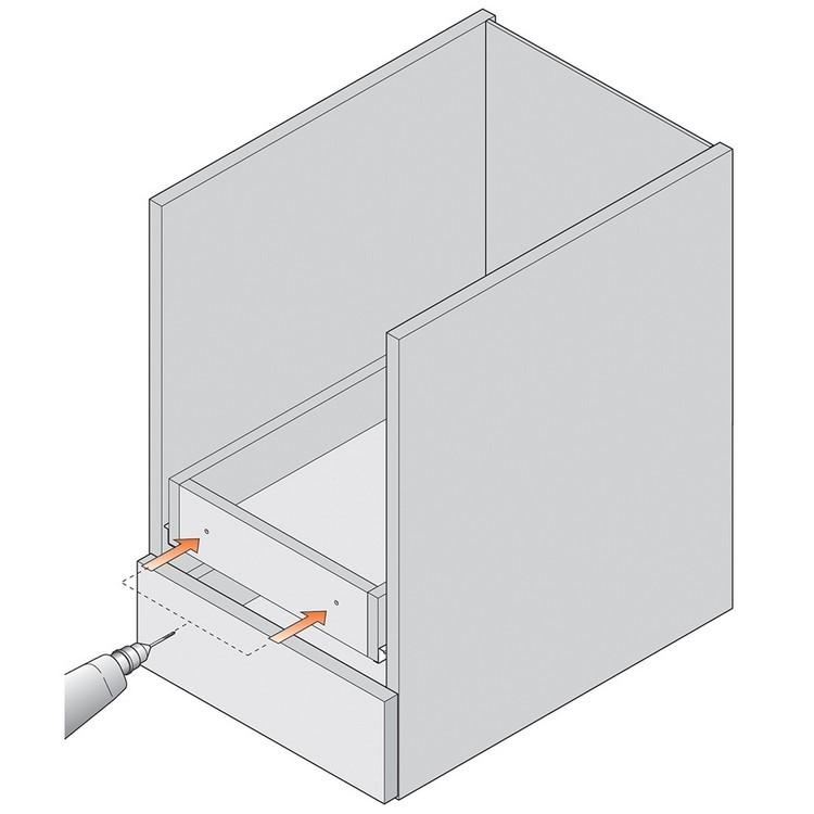 Blum 295.1000.21 Drawer Front Adjuster, 1000 pack :: Image 90