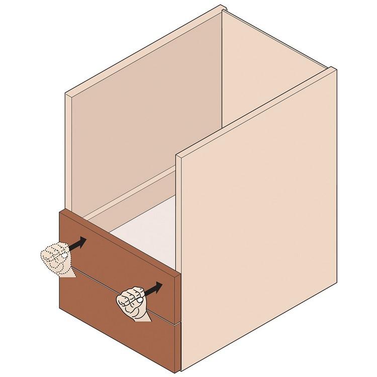 Blum 295.1000.21 Drawer Front Adjuster, 1000 pack :: Image 110