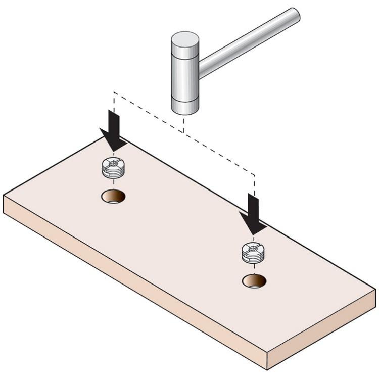 Blum 295.1000.21 Drawer Front Adjuster, 1000 pack :: Image 50