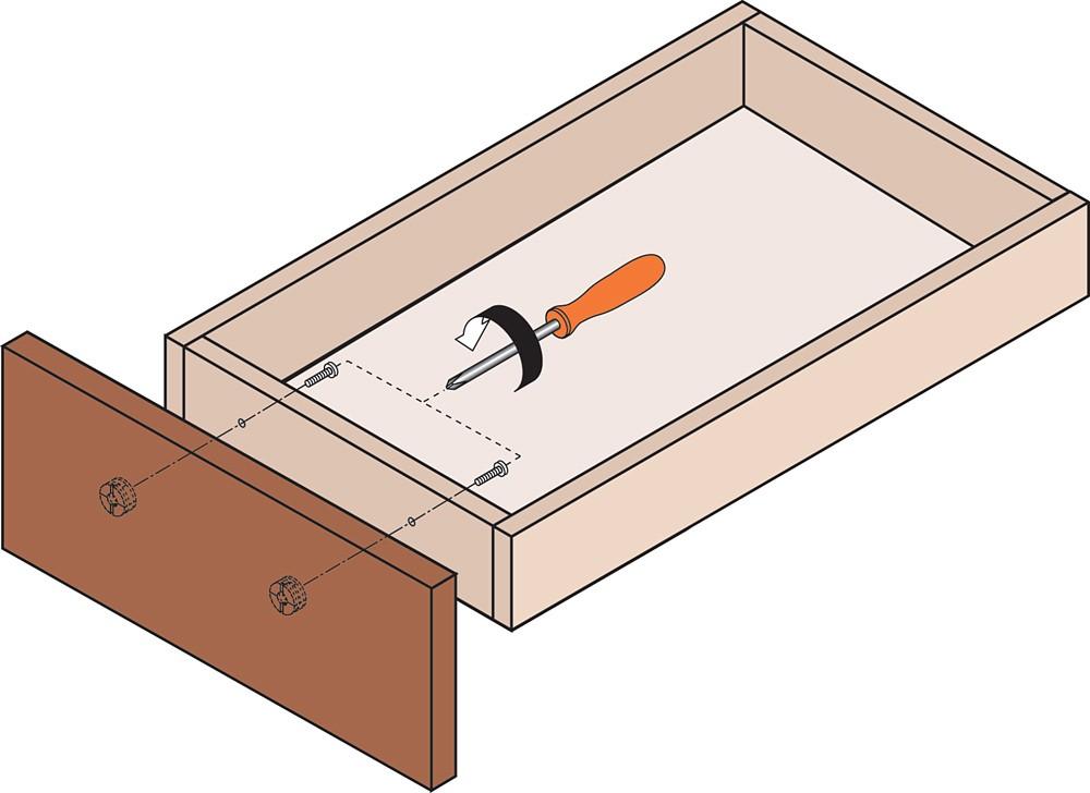 Blum 295.1000.21 Drawer Front Adjuster, 1000 pack :: Image 130