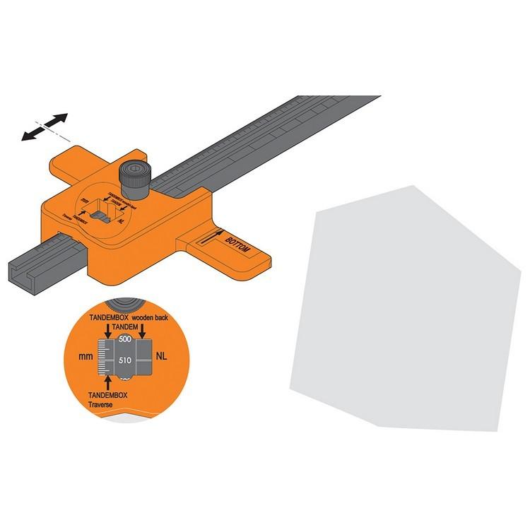 Blum ZML.1150.US SERVO-DRIVE Boring Template for Adaptors :: Image 70