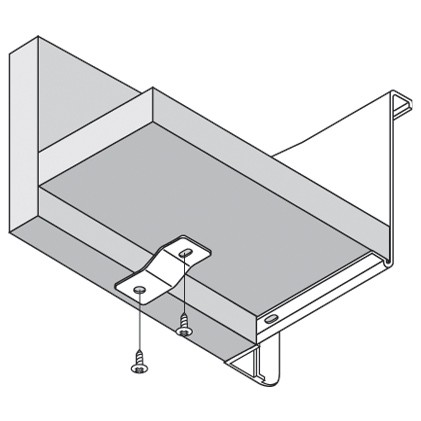 Blum ZSB.0045.01 METABOX Support Bracket for Interior Drawers :: Image 10