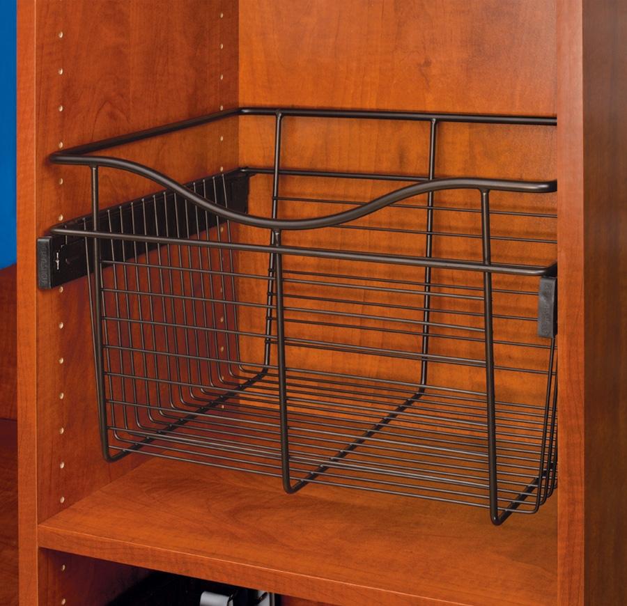 Rev-A-Shelf CB-182007ORB-1 - Wire Basket 20inD Closet Pullout Basket, Oil-Rubbed Bronze :: Image 10