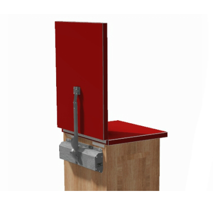 Lift-A-SYST II LAS 526 Flip-Up Counter Lift, Light to Medium Weight, 36-72 lb :: Image 20