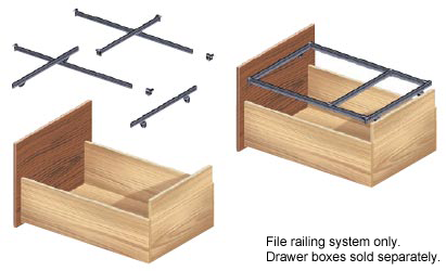 CompX Timberline FF-SK2, Pendaflex Letter Kit System, Letter Size :: Image 10