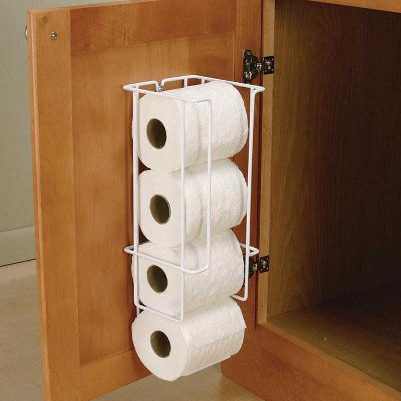 KV TPH-531-W, Toilet Paper Holder, KV Series, White Wire, 5-3/8 W x 5-1/2 D x 16 H, Knape and Vogt :: Image 20