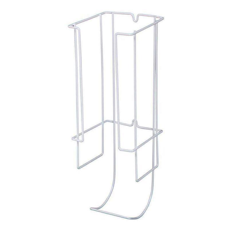 KV TPH-531-W, Toilet Paper Holder, KV Series, White Wire, 5-3/8 W x 5-1/2 D x 16 H, Knape and Vogt :: Image 10