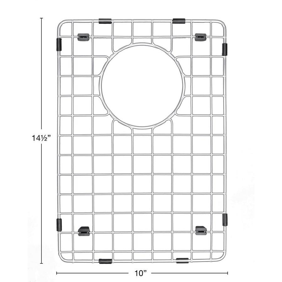 "Stainless Steel Bottom Grid 10"" X 14-1/2"" for QA-760 and QAR-760 Sinks (Small Bowl) Karran GR-6004 :: Image 20"
