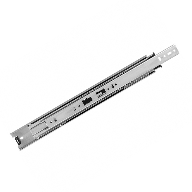 "KV 8400P 14, 14"" 100lb Side Mount Full Ext Ball Bearing Drawer Slide, Anochrome, Polybag, Knape and Vogt :: Image 10"