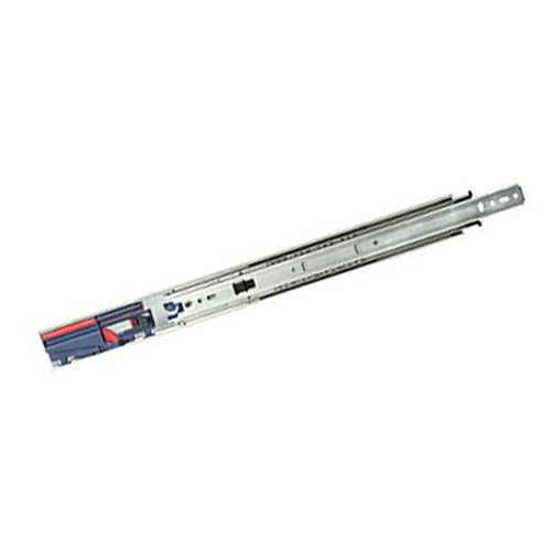 "KV 8450FMP 22, 22"" 100lb Side Mount Full Ext Soft Close Ball Bearing Drawer Slide, Anochrome, Polybag, Knape and Vogt :: Image 10"