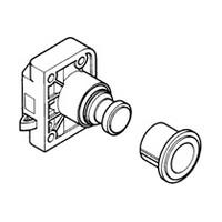 Sugatsune TLP-BB/CR Push Button & Base, Chrome, for Push Knob Latch (Latch Body Sold Separately) :: Image 10
