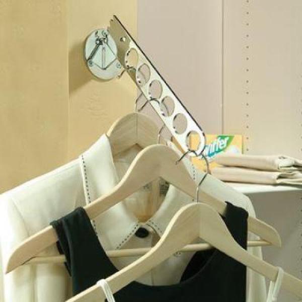 KV S-8037, Adjustable Laundry Valet, Satin Nickel, Knape and Vogt :: Image 20