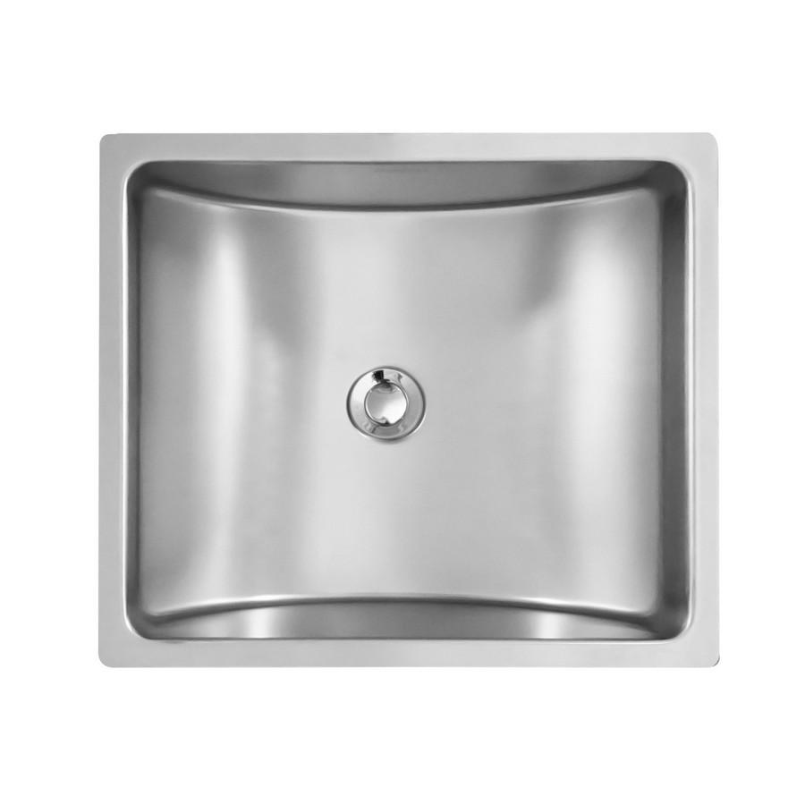 "17"" Undermount Stainless Vanity Sink Karran UV-1715"