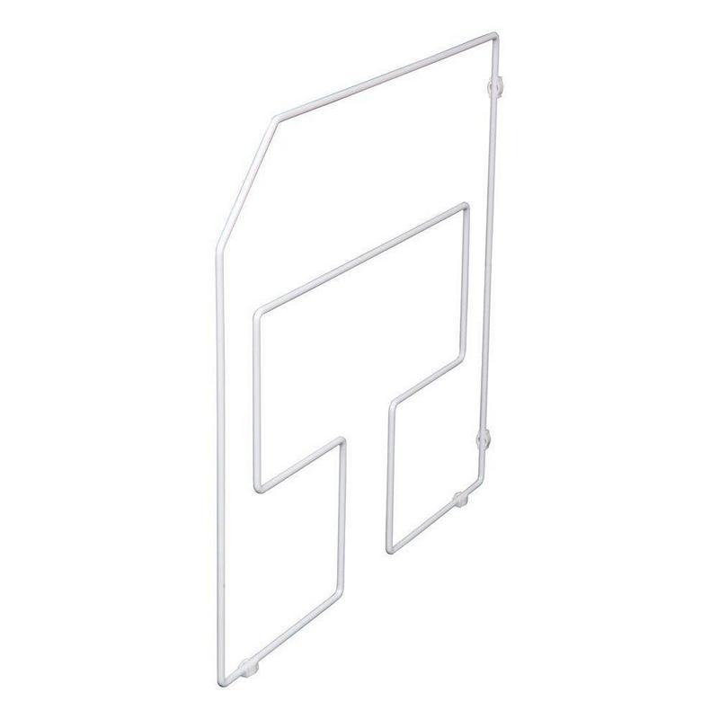 KV TD18-1-W, 18in Tray Divider, KV Series, White, 15/16 W x 19-1/2 D x 18 H, Knape and Vogt :: Image 10