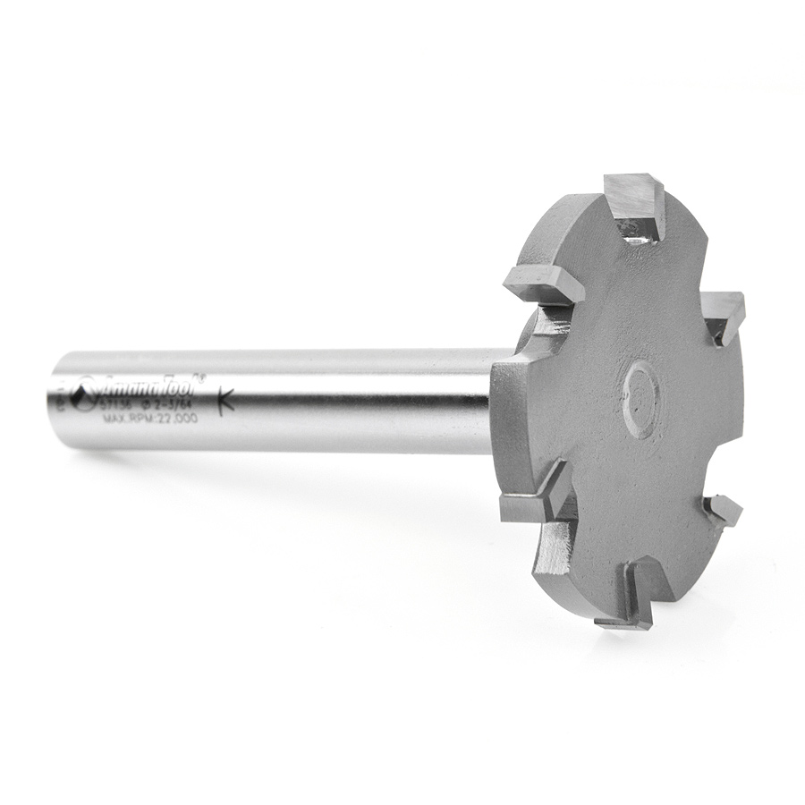 Countertop Trim 6 Wing Solid Surface Bit