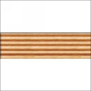 """Edgebanding PVC 3D001R Multiplex Beech, 15/16"""" X 2mm,  LF/Roll, Woodtape 3D001R-1402-29"""