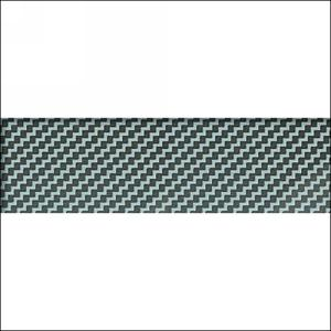 "PVC Edgebanding 3D007R Carbon Fiber,  15/16"" X 2mm, Woodtape 3D007R-1402-29"