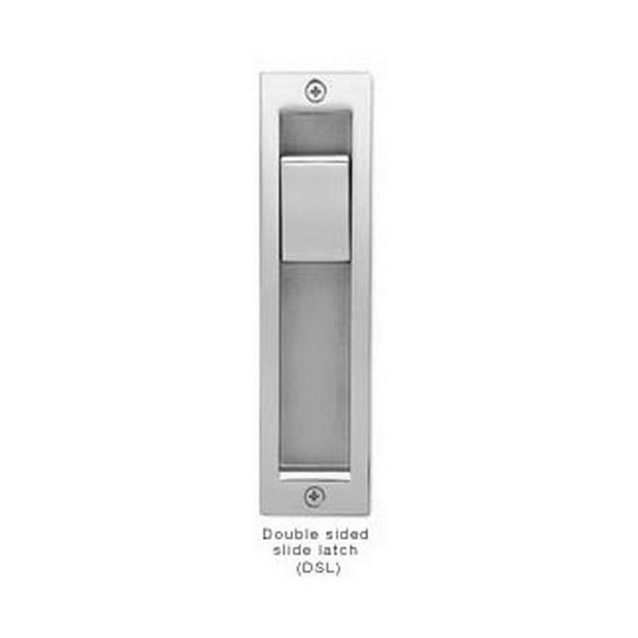 Double Sided Sliding Door Latch Handle Nickel Sugatsune HC-3051-DSL-NI