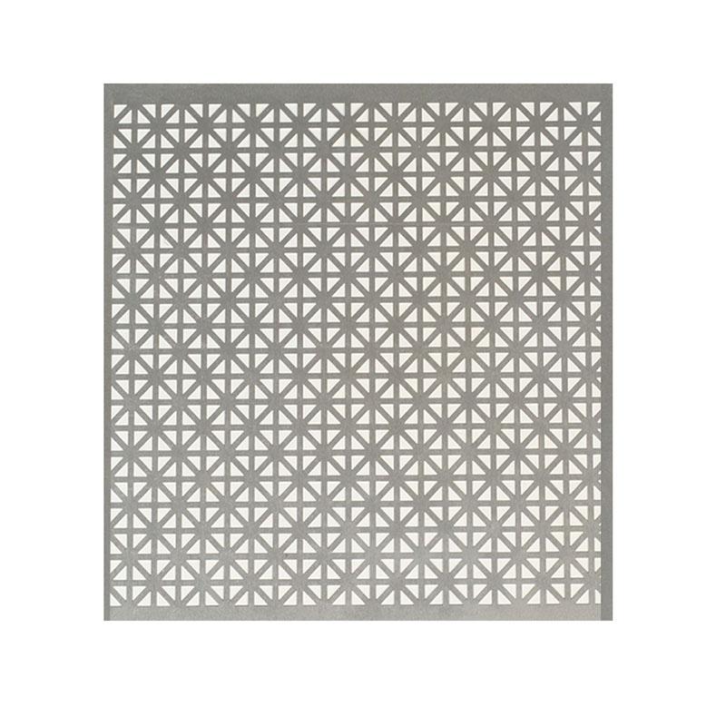 "Anodized Aluminum Panel Union Jack Pattern 24"" W x 36"" L  Mill Macklanburg-Duncan 57083"