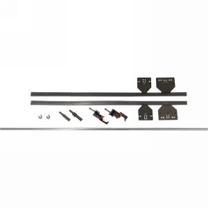 Blum ZST686TU, 563/569 Lateral Stabilizer Rod Kit, Aluminum
