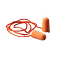 3M Foam Earplugs, Corded, NRR 29dB, Tapered, 51138290097