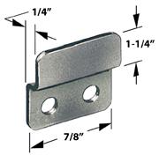 CompX Timberline SP-257-3 Timberline Lock Accessories, Strike Plate for Double Door Locks, Black