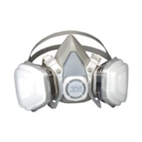 3M 51138660708, Half Face Piece Respirators, Economy, Large