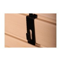 HandiSOLUTIONS HSHNHB Slatwall Notch Hook Slatwall