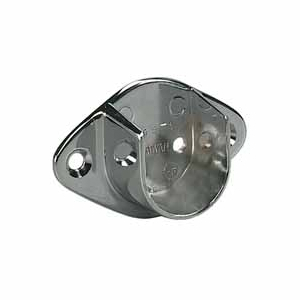 "Open Closet Flange 1-1/16"" Dia Chrome Knape and Vogt 735 CHR"