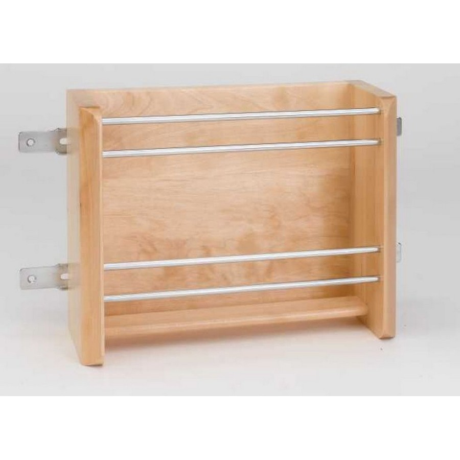 "15"" Small Door Mount Foil Rack Rev-A-Shelf 4WFR-15-1"