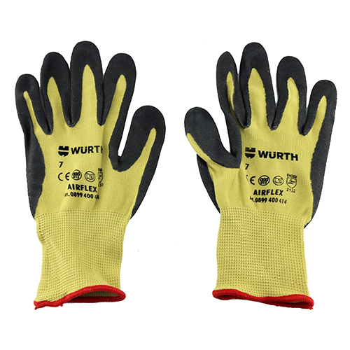 WE Preferred Nitrile Coated Gloves, Foam Coated, Large