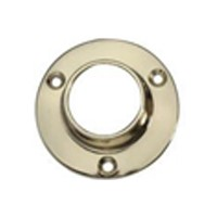 WE Preferred 54233-47-035 1-5/16 Closed Round Flange, Dull Brass