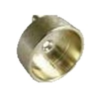 """Closed Round Flange with Pins 1-5/16"""" Dia Dull Brass WE Preferred 54231-47-039"""