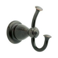 Liberty Hardware 77835-RB, Robe Hook, Length 27-13/16, Venetian Bronze, Leland