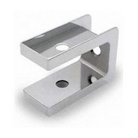 Jacknob 1540, Toilet Door Zamak Mortise Top Insert for 7/8 Thick Doors, In-Swing & Out-Swing, Chrome